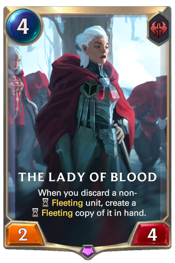 The Lady of Blood Card Image