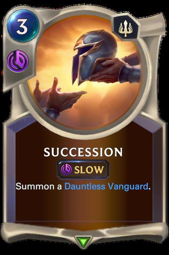 Succession Card Image