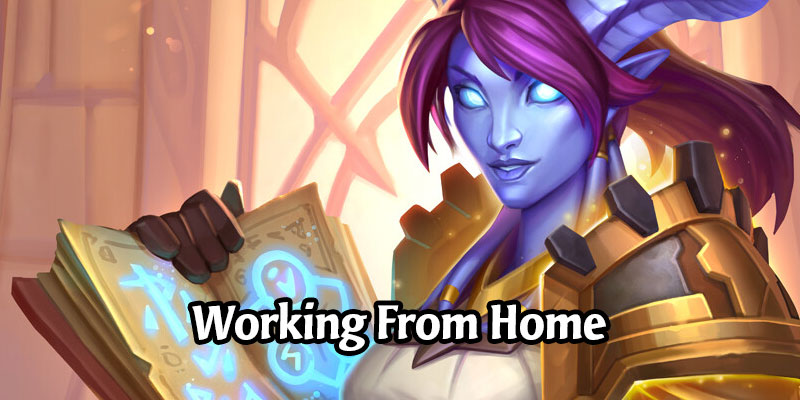 The Hearthstone Team Talks Working From Home on Scholomance Academy & Their Favourite Cards