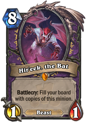 Hir'eek, the Bat Card Image