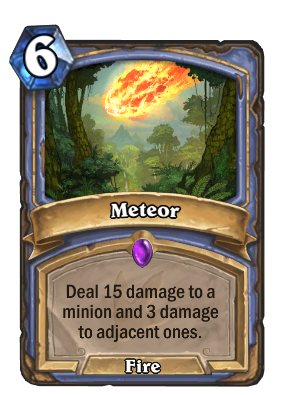 Meteor Card Image
