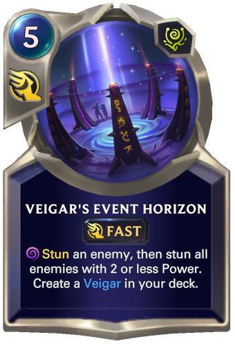 Veigar's Event Horizon Card Image