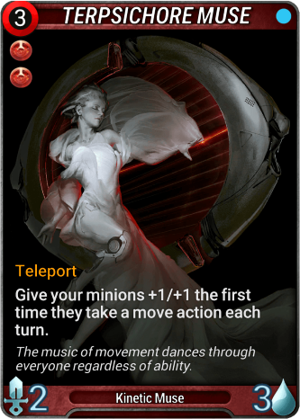Terpsichore Muse Card Image