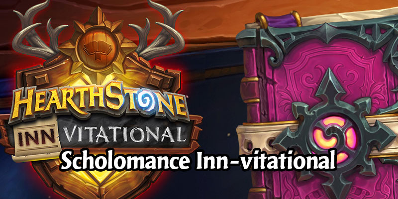 Get 2 Free Scholomance Academy Packs Today via Twitch Drops Starting Now! The Hearthstone Inn-vitational