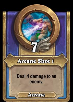 Arcane Shot 1 Card Image