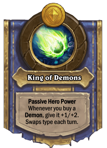 King of Demons Card Image