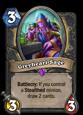 Greyheart Sage Card Image