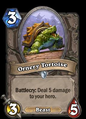Ornery Tortoise Card Image