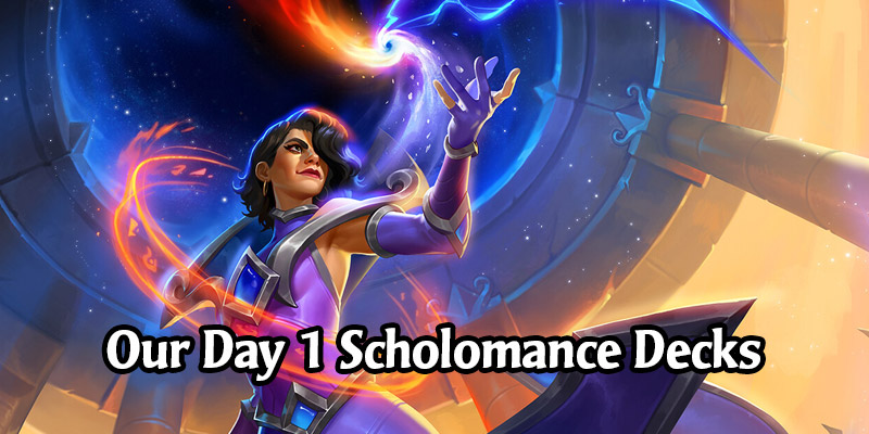 Our Day 1 Picks for Scholomance Academy - Seven Standard Hearthstone Decks We're Taking to the Ladder