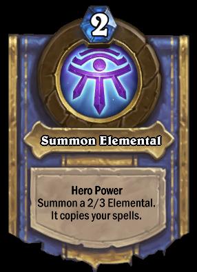 Summon Elemental Card Image
