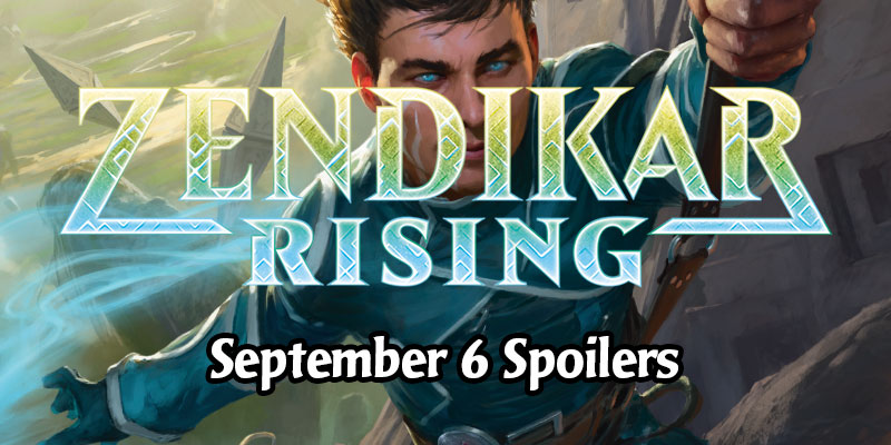 Zendikar Rising Card Spoilers for September 6 - 8 New Cards and Counting