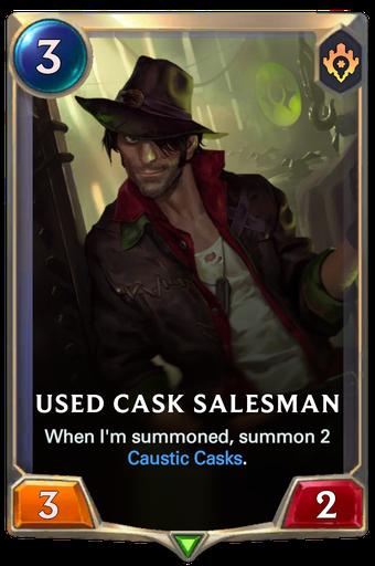 Used Cask Salesman Card Image