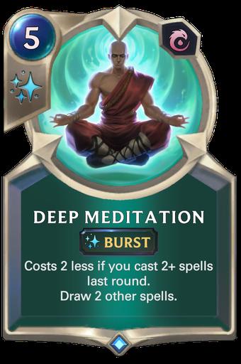 Deep Meditation Card Image