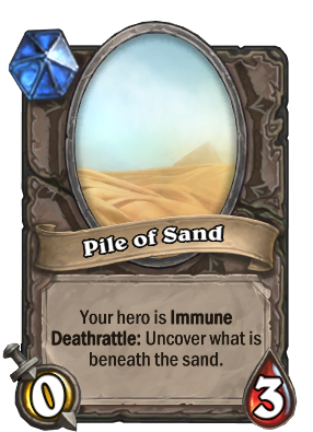 Pile of Sand Card Image