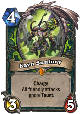 Kayn Sunfury Card Image