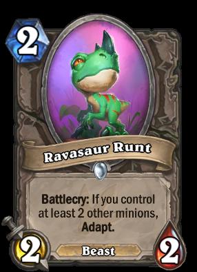 Ravasaur Runt Card Image