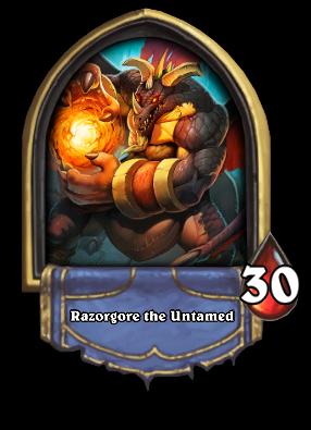 Razorgore the Untamed Card Image