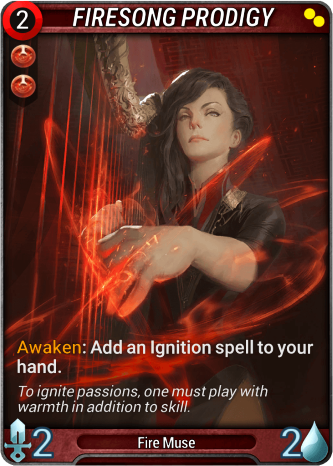 Firesong Prodigy Card Image