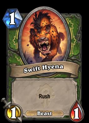 Swift Hyena Card Image