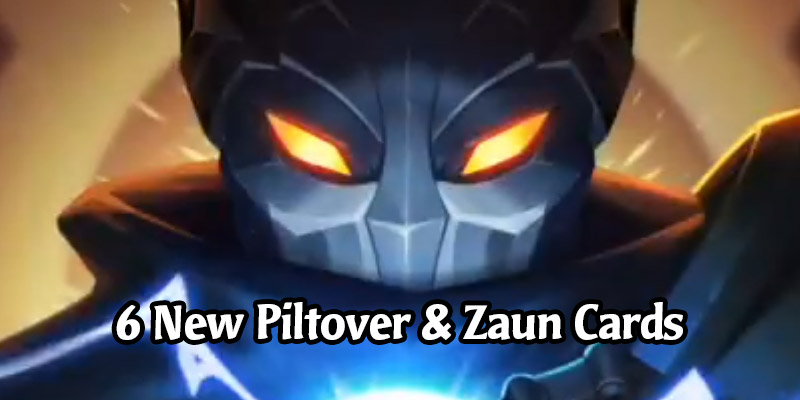 Six New Cards Revealed for Runeterra's Cosmic Creation Expansion Including Piltover's Landmark