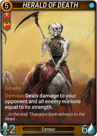 Herald of Death Card Image