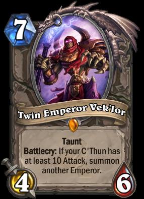 Twin Emperor Vek'lor Card Image