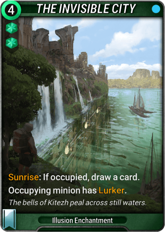 The Invisible City Card Image