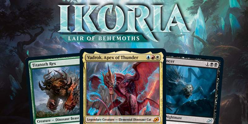 MTG Arena - Ikoria: Lair of Behemoths Card Spoilers April 2
