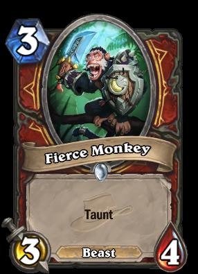 Fierce Monkey Card Image
