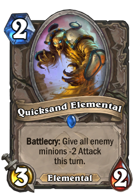 Quicksand Elemental Card Image