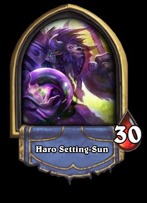 Haro Setting-Sun Card Image