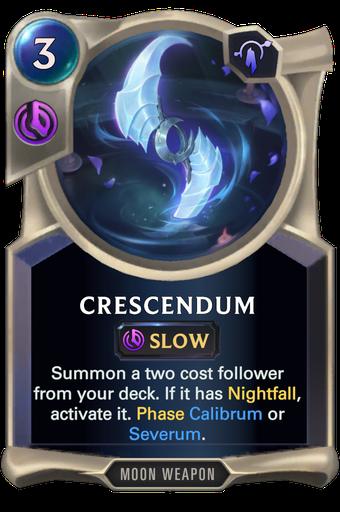 Crescendum Card Image