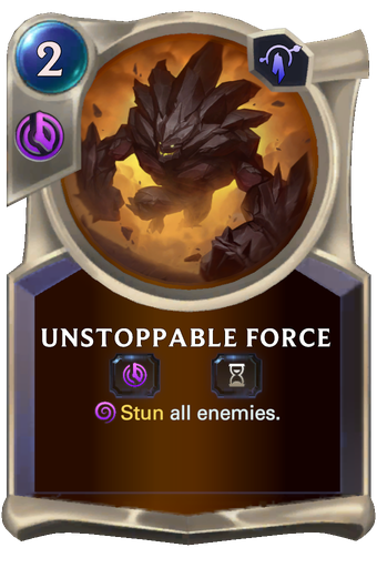 Unstoppable Force Card Image