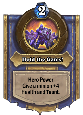 Hold the Gates! Card Image