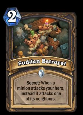 Sudden Betrayal Card Image