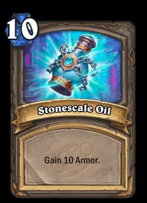 Stonescale Oil Card Image