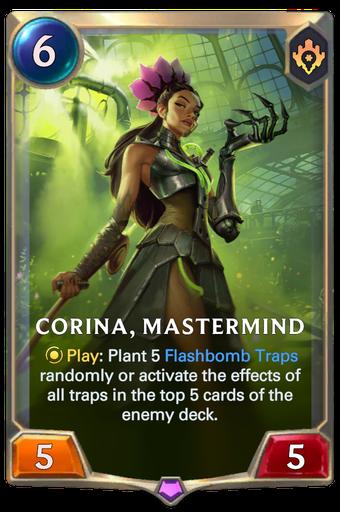 Corina, Mastermind Card Image