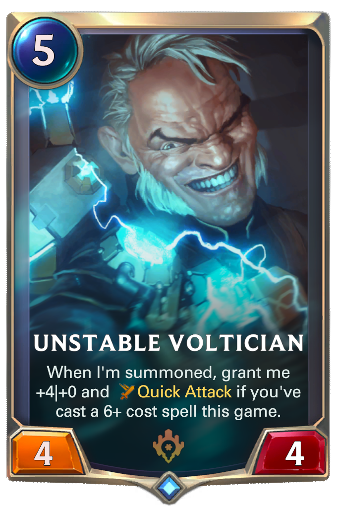 Unstable Voltician Card Image