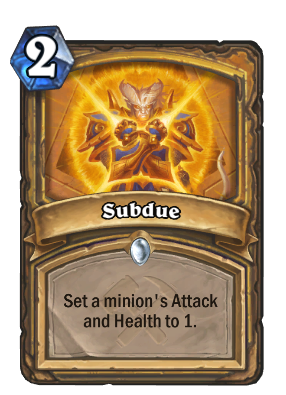 Subdue Card Image