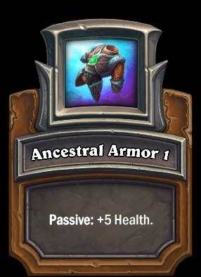 Ancestral Armor 1 Card Image