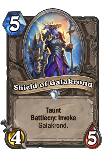 Shield of Galakrond Card Image