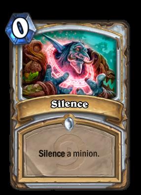Silence Card Image