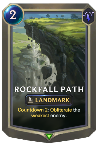 Rockfall Path Card Image