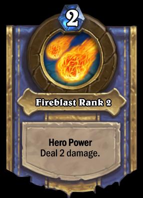 Fireblast Rank 2 Card Image