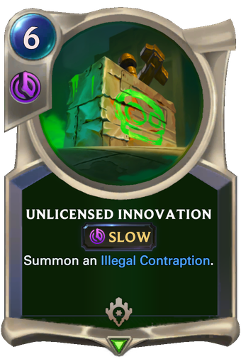 Unlicensed Innovation Card Image