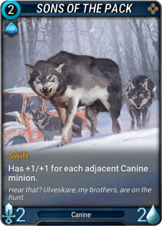 Sons of the Pack Card Image