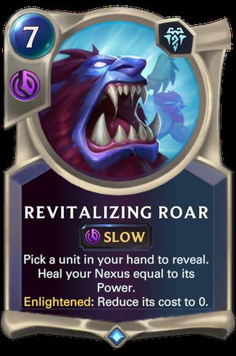 Revitalizing Roar Card Image