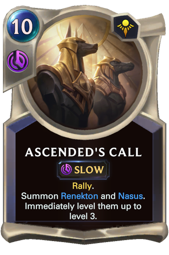 Ascended's Call Card Image