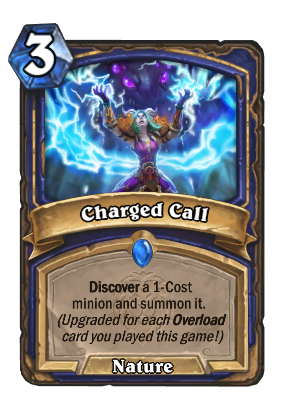 Charged Call Card Image
