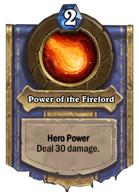 Power of the Firelord Card Image